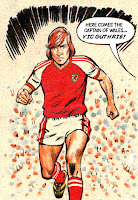 Vic Guthrie captain of Wales