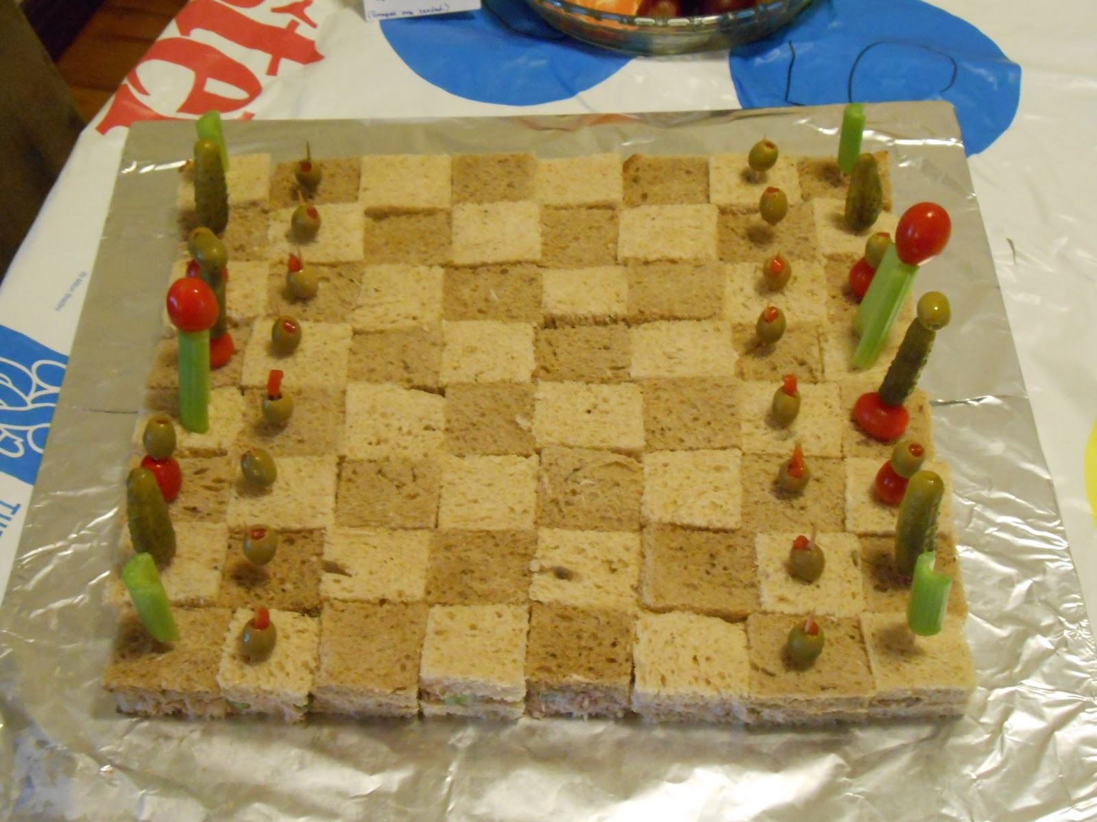 Do it yourself ditders theme parties board game party food i solutioingenieria Gallery