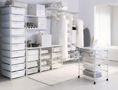 white closet inspiration