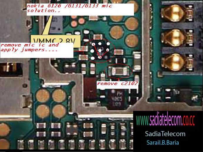7210c mic solution. Nokia mic solution