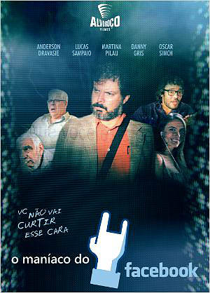Filme Poster O Maníaco do Facebook