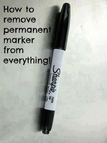 now you can pin it how to remove permanent marker. Black Bedroom Furniture Sets. Home Design Ideas