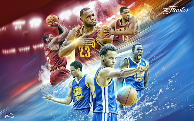 Free Wallpapers by Valdazzar: NBA 2015 - Golden State Warriors vs Cleveland Cavaliers