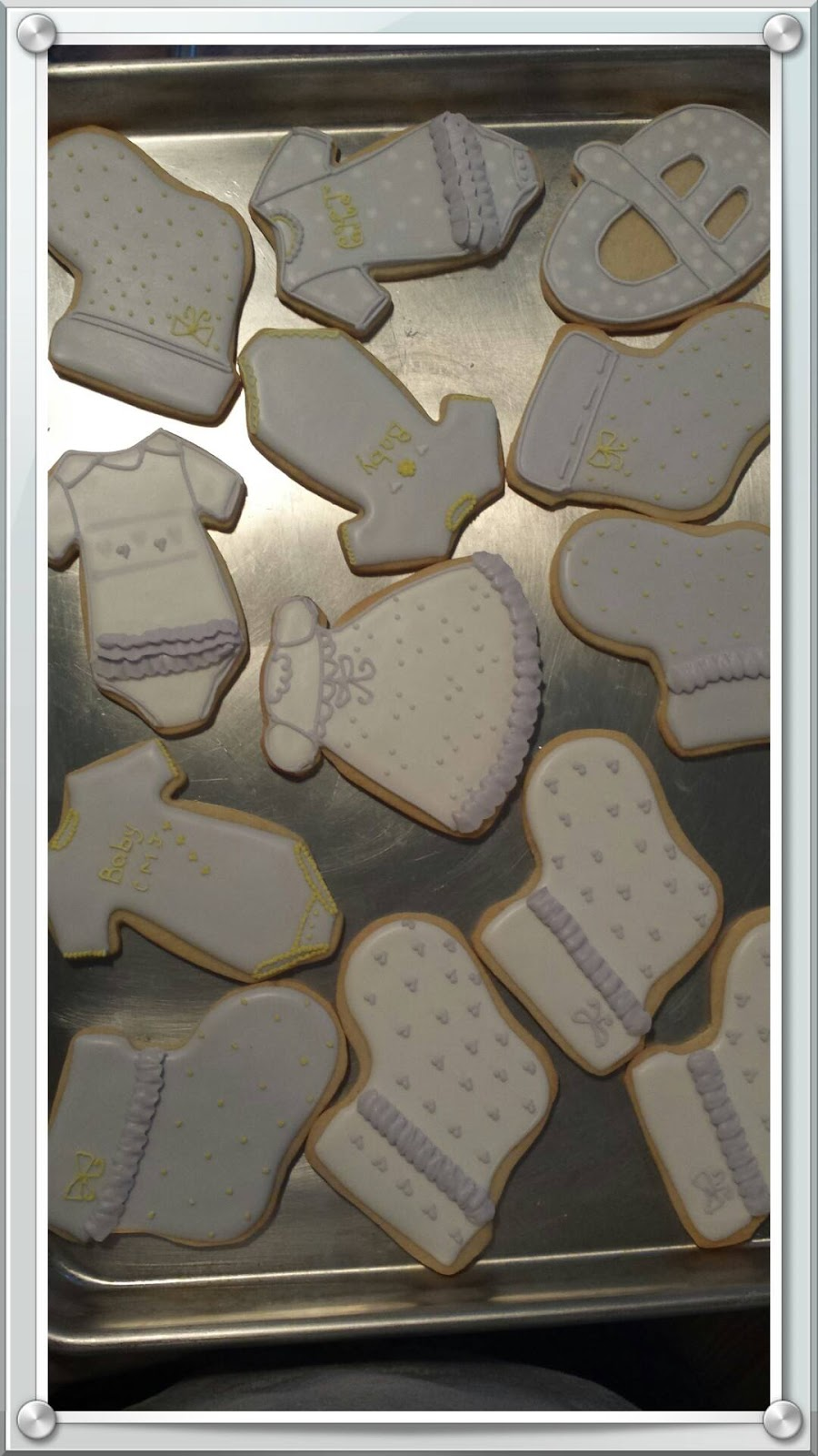 Cake Decorating Classes Near Charlotte Nc : Cakes By Diana in Charlotte NC,: Baby Shower Cookies