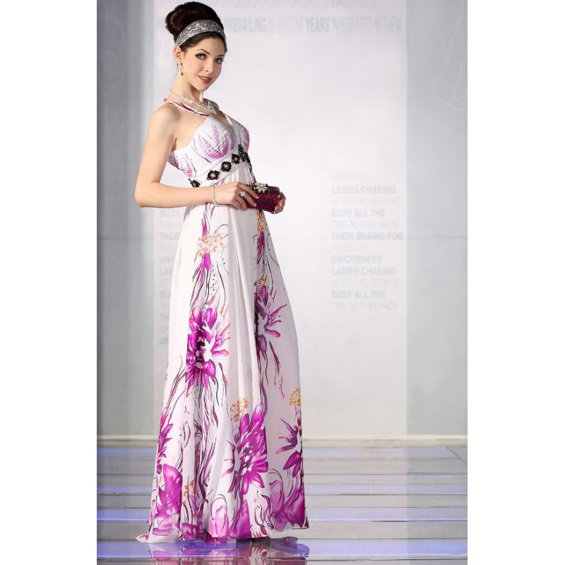 World Style Long Garden Party Dress