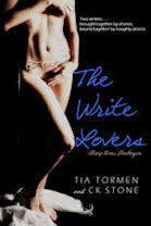 <i>The Write Lovers - Book One</i><br>By Tia Tormen &amp; CK. Stone