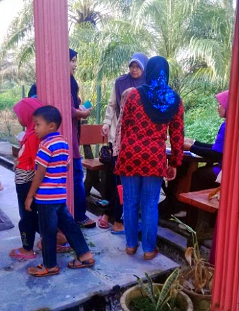 Pendaftaran Kelas Harapan Nurinsaniah di Kg Kebun Bharu,Telok Panglima Garang.