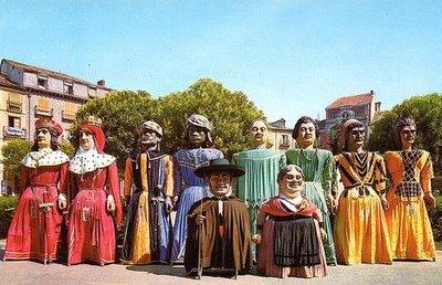GIGANTILLOS Y GIGANTONES de Burgos