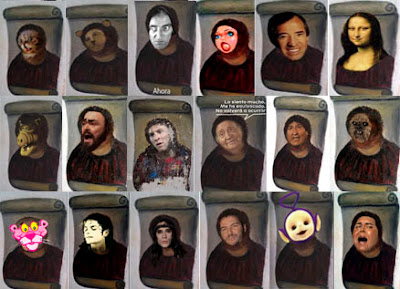 Alf, Pantera Rosa, Fary, Mona Lisa...