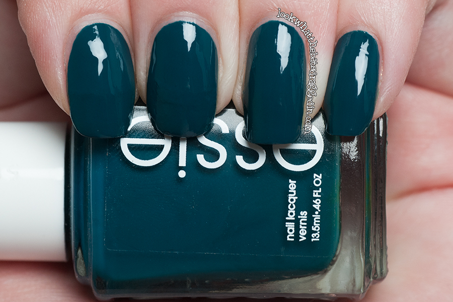 Essie Go Overboard nail polish swatch