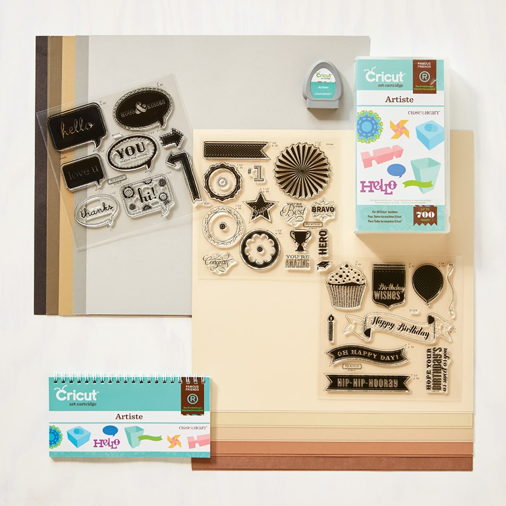 Lisa s Creative Corner: Artiste Cricut Collection Artiste cricut cartridge images