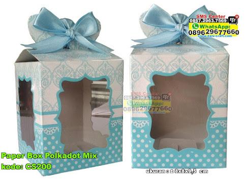 Paper Box Polkadot Mix