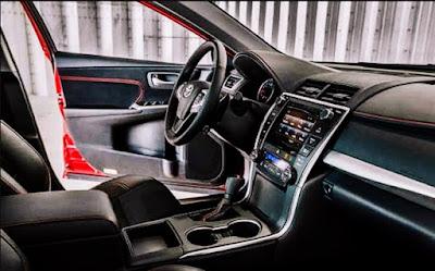 2017 Toyota Camry XSE Specs Steer
