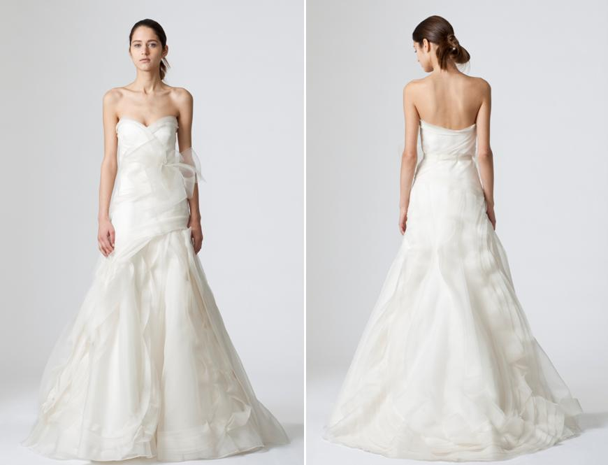 Dopamine enriched wedding dress by vera wang for Vera wang used wedding dress