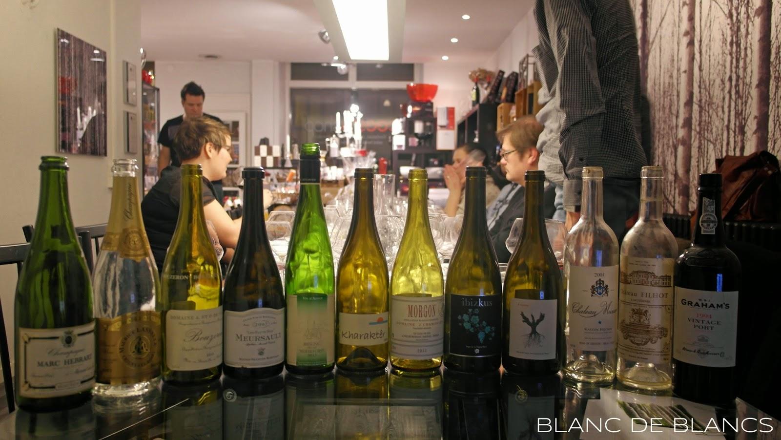 Viinibloggaajien dinner - www.blancdeblancs.fi