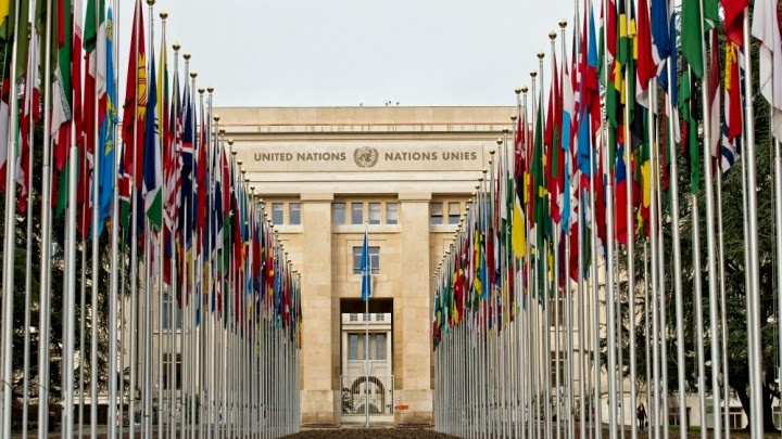 The low-level round of climate talks was held in Palais des Nations, Geneva. (Credit: United Nations/Flickr) Click to Enlarge.