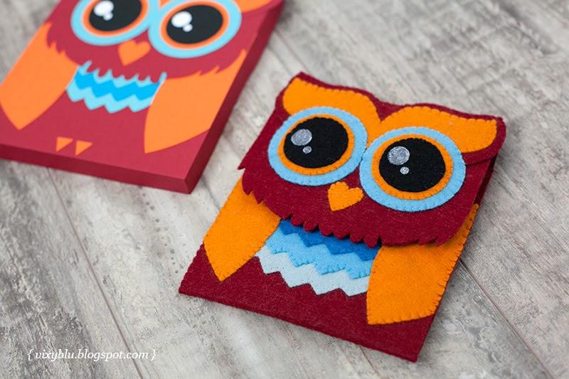 husa handmade book reader, husa bufnita, husa tableta, husa ipad