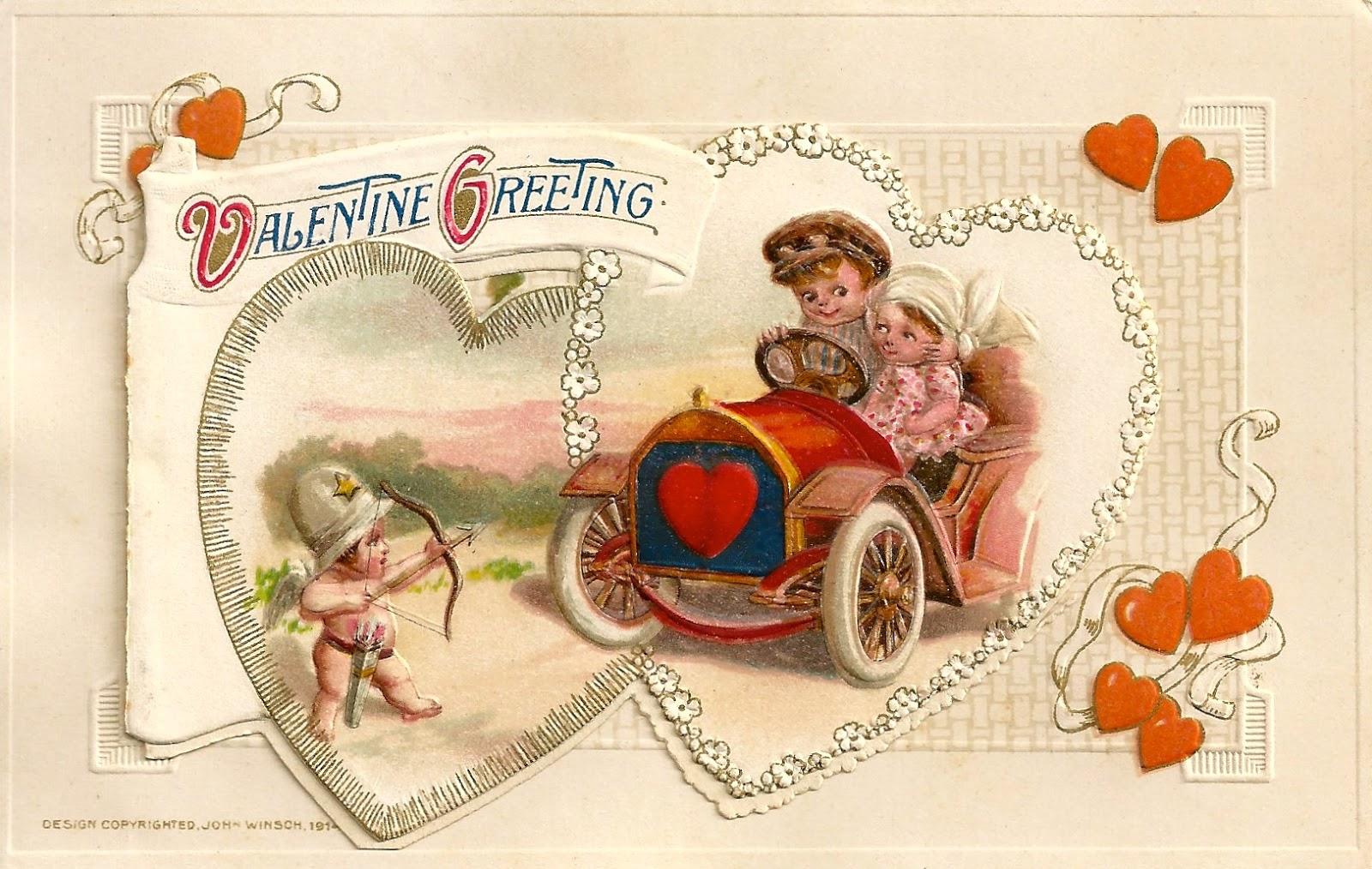 Vintage Valentines zu kaufen