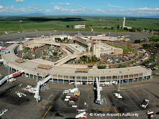 Nairobi Jomo Kenyatta Airport in the 1990s