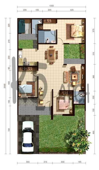 Inilah inspirasi Desain Rumah Minimalis Type 80 2015 yang menawan