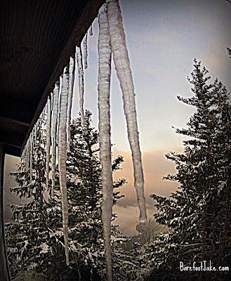lake crescent winter