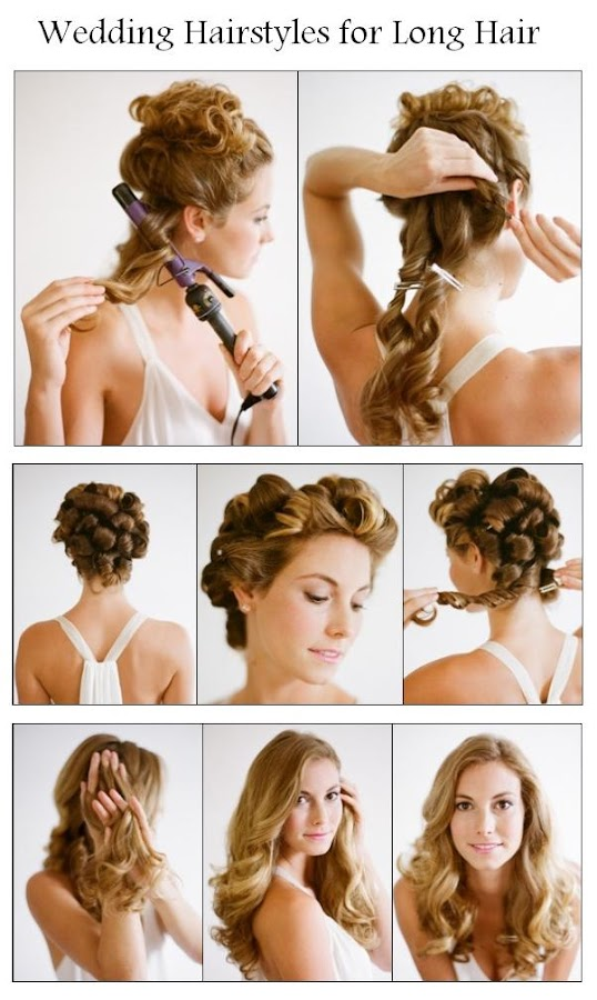 Beauty Tutorials: Make A Wedding Hairstyles for Long Hair