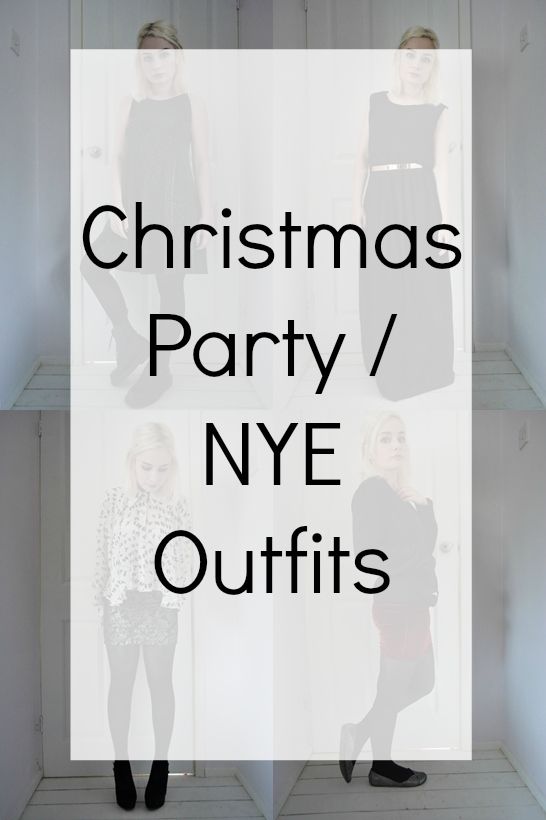 Christmas Party New Years Eve Outfits Lookbook