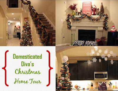 merry christmas eve!...domesticated diva's christmas home tour