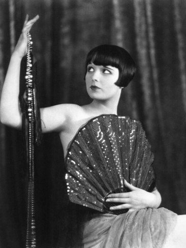 louise brooks portrait