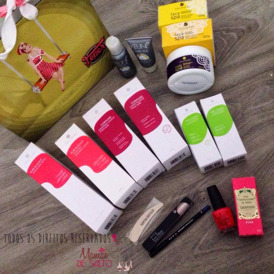 recebidos loja Fever Beauty blog Mamãe de Salto - todos os direitos reservados