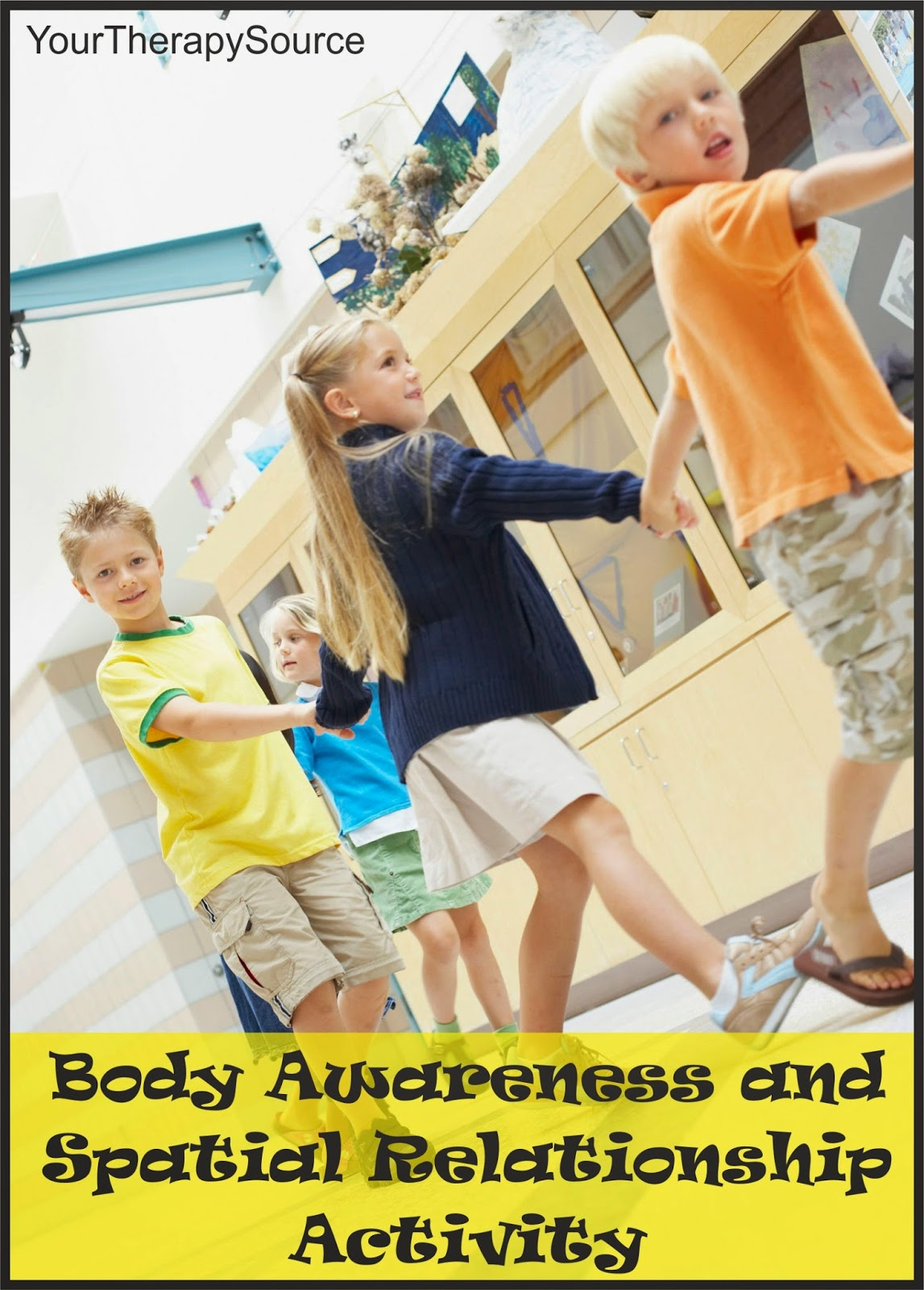 Body awareness and spatial relationship activity