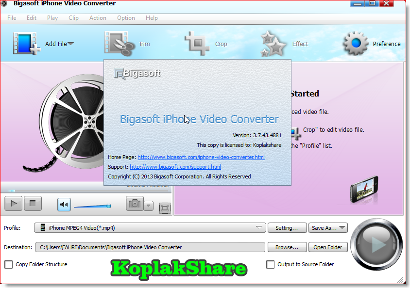 Bigasoft flac converter serial number machine