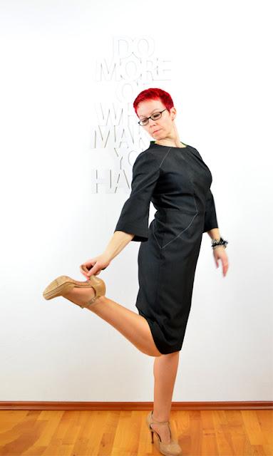 WKSA: Burda 8/2012, Modell 121 Das Weihnachtskleid @frauvau.blogspot.de
