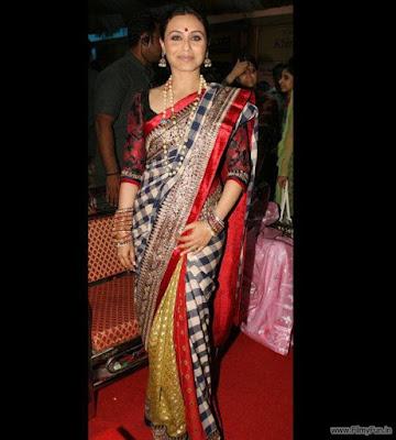 Rani Mukherjee looks very traditional