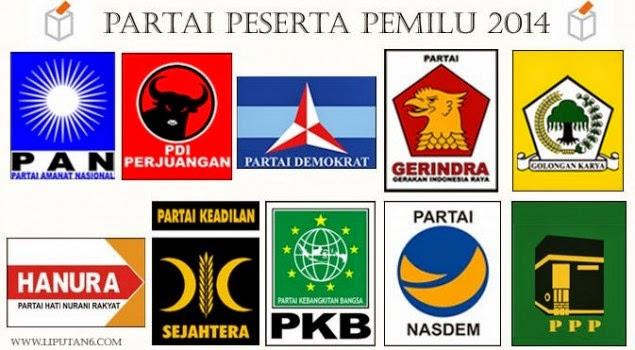 Hasil Hitung Cepat Quick Count Pemilu Legislatif 9 April 2014