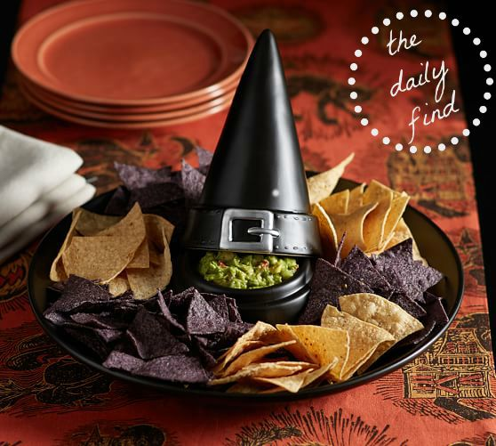 Halloween Chip Tray