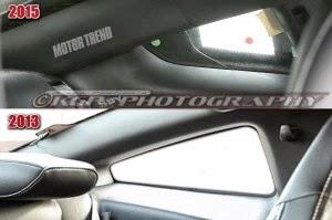 2015 Ford Mustang Interior Spy Shots