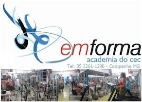 Academia emforma - Campanha MG