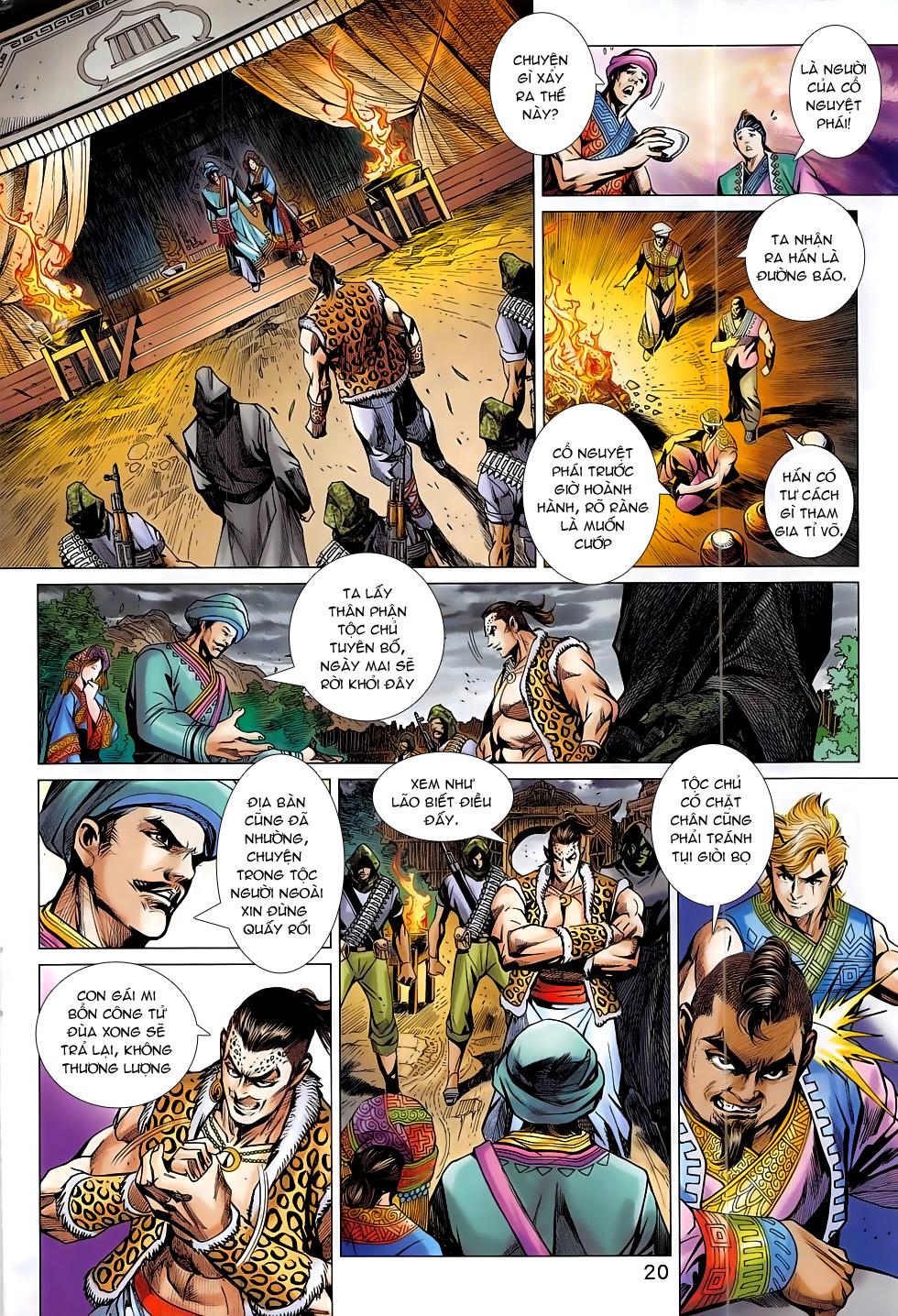 Tân Tác Long Hổ Môn chap 795 Trang 20 - Mangak.info