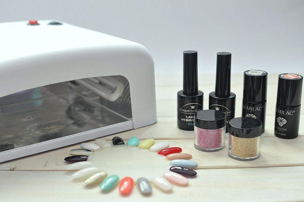 wady manicure hybrydowego