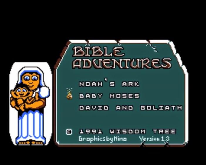 Bible Adventures NES