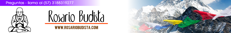 Rosario budista, meditación, esencias, Japa malas en Bogota