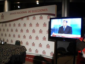DEBATE PRESIDENCIAL EN EL PERÚ