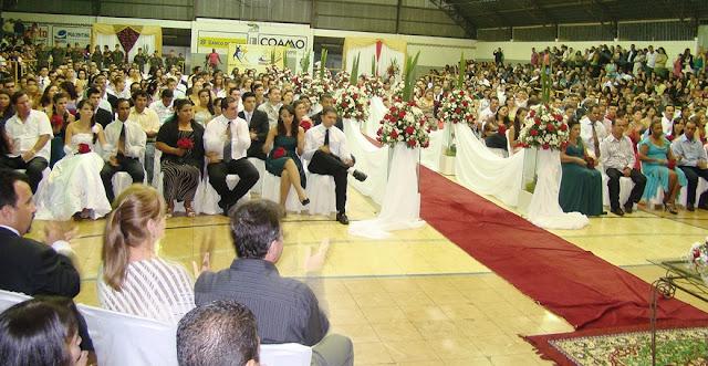 Casamento Civil coletivo reunirá 98 casais em Campo Mourão