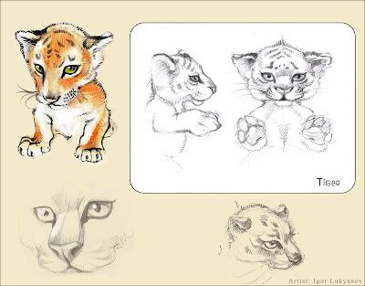 cute stuffed tiger