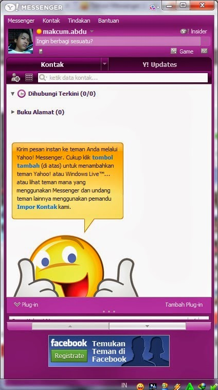 Free Download Yahoo Messenger  With Chat Room