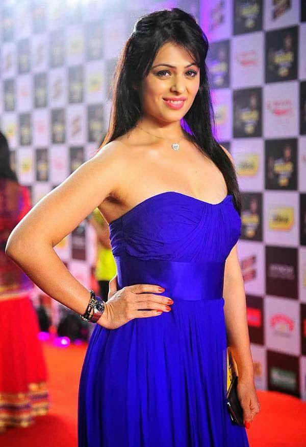 Anjana-Sukhan at Mirchi Music Awards 2014