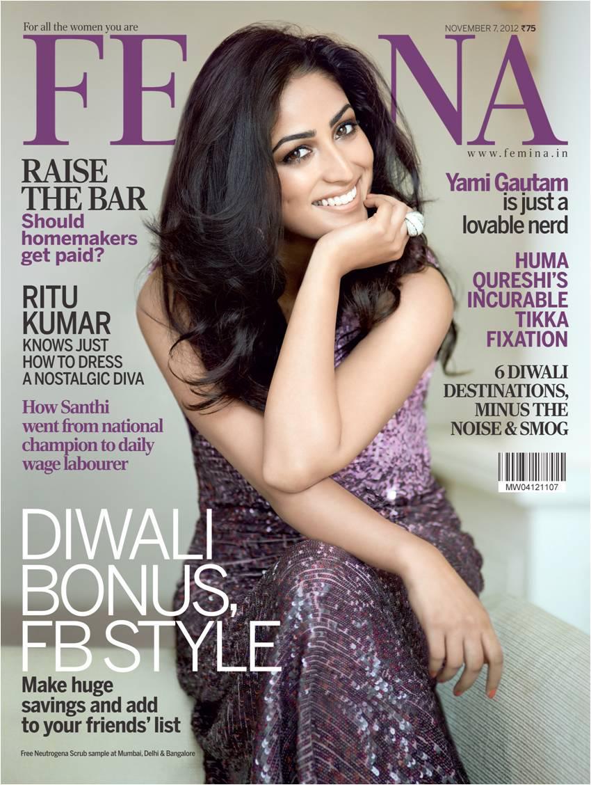 Indias golden girls glam up Feminas latest cover