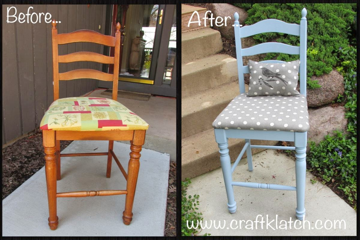 Chair Before And After With