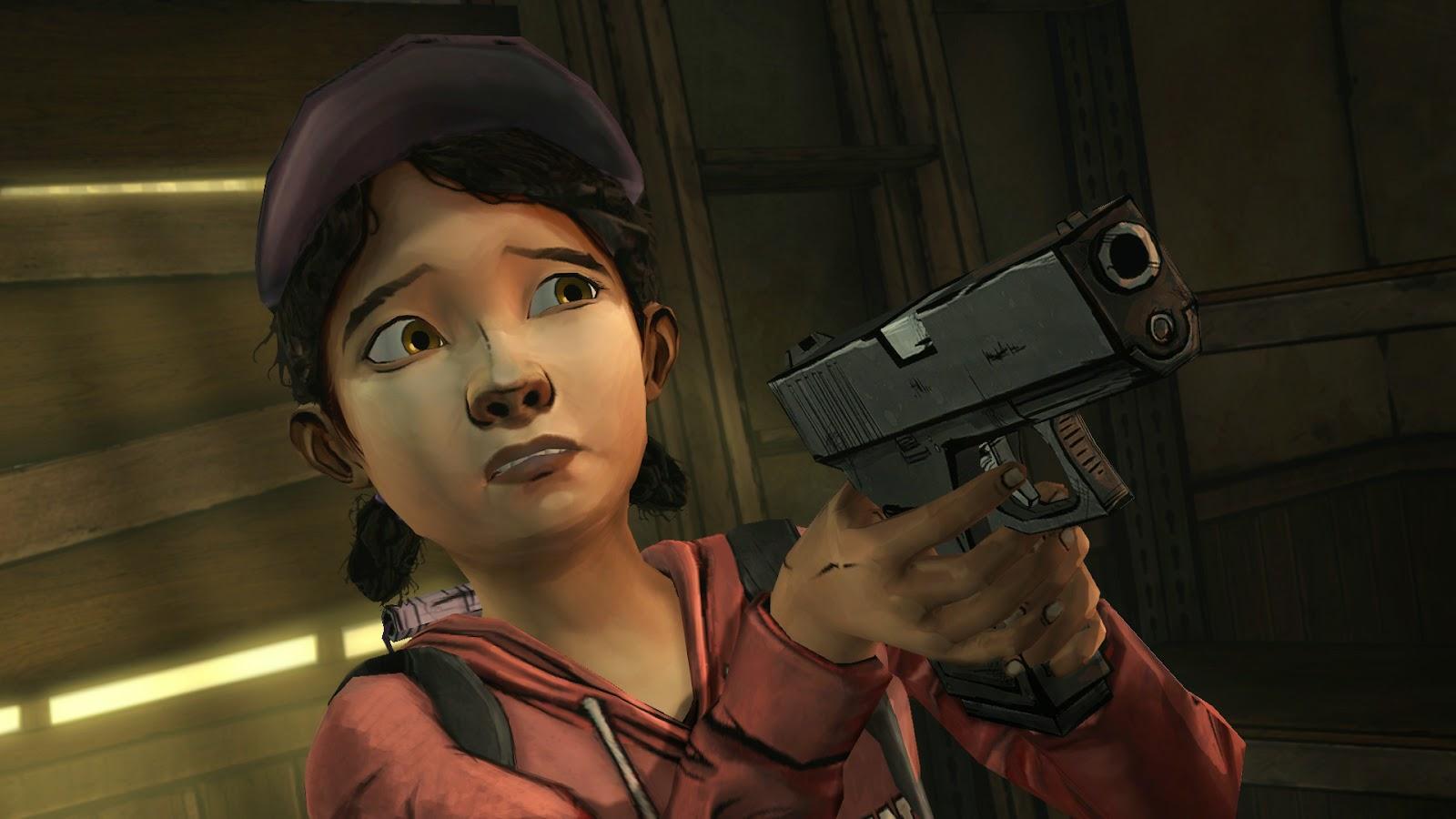 3D hentai   clementine   walking dead 2) Clementine - The Walking Dead